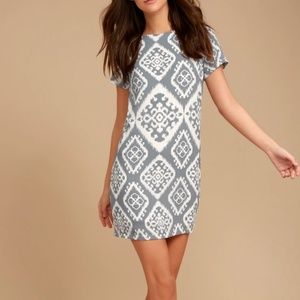 Lulu's Give Me Print Shift Dress